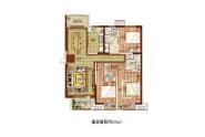 131㎡户型-3室2厅2卫-131.0㎡