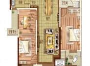 105㎡户型-3室2厅1卫-105.0㎡